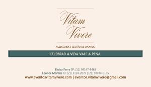 Cartão de Visitas - Vitam Vivere