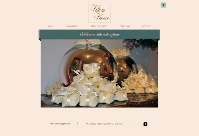 Website - Vitam Vivere