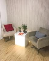Clínica de Saúde - Sala de Espera