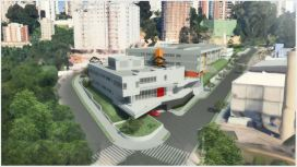 Perspectiva. Fonte: Rafael Perrone Arquitetos Associados
